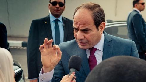 Abdel Fattah al-Sisi, presidente de Egipto.