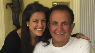 Liran Yechiel y su padre Meir.
