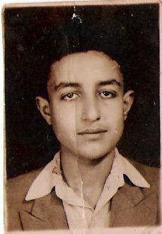 Meir Yechiel en su juventud.