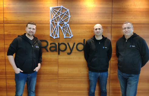 Arik Shtilman, Arkady Karpman, Omer Priel, fundadores de Rapyd.