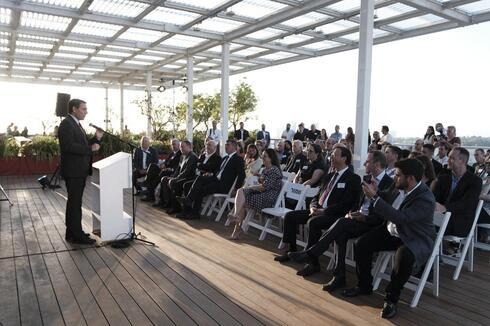 Acto de lanzamiento de las actividades de ILAN en Israel.