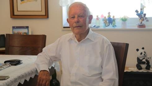 Alexander Tzamir, sobreviviente del Holocausto.
