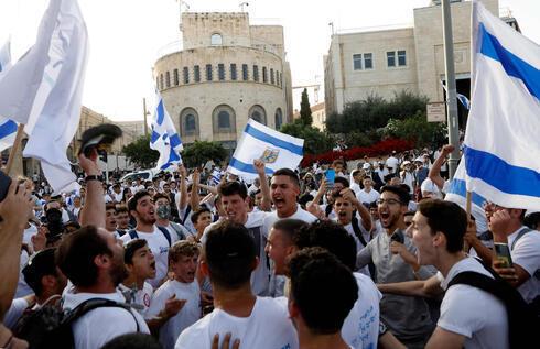 Marcha del Día de Jerusalem el 10 de mayo.