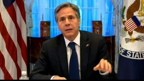 Antoni Blinken, secretario de Estado de Estados Unidos, hablando ante el Comité de Asuntos Exteriores de la Cámara de Representantes.