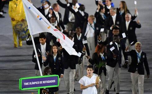 El Equipo de Refugiados durante los Juegos de Río de Janeiro.