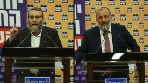 Moshe Gafni y Aryeh Deri atacaron a Naftali Bennett la semana pasada por unirse a la coalición para el cambio y sacar a Benjamin Netanyahu del poder.
