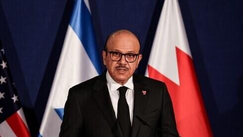 Ministro de Relaciones Exteriores de Bahréin Abdullatif Al Zayani.
