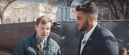 Rudy Rochman debate con un neonazi en Estados Unidos.