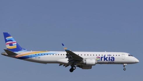 Archivo: vuelo de la aerolínea israelí Arkia.
