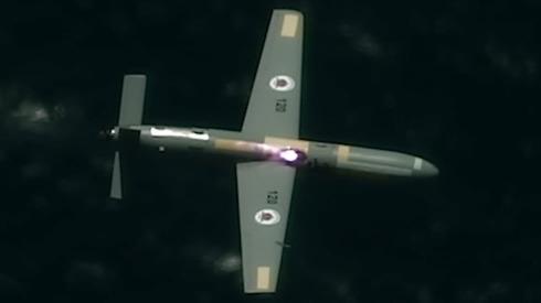 Uno de los vehículos aéreos no tripulados derribados en el experimento.