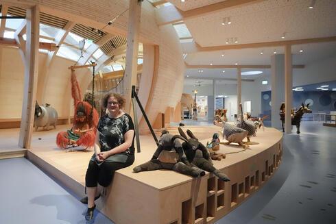 Ane Kleine-Engel, directora del museo infantil del Museo Judío.