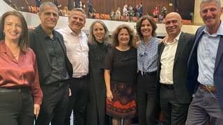 Miembros de Meretz en la Knesset.