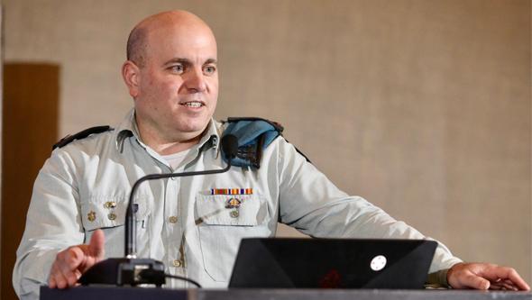 Omer Dagan, jefe de Lotem, la unidad digital y de datos de las FDI.