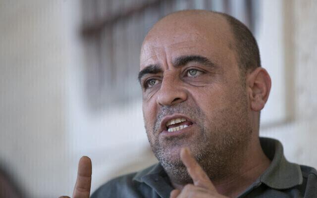 Nizar Banat, crítico de la Autoridad Palestina.