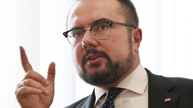 El viceministro de Asuntos Exteriores polaco, Pawel Jablonski.
