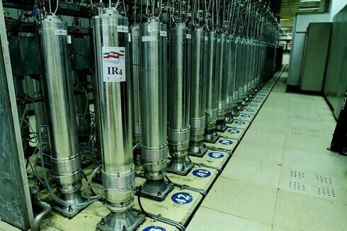 Centrifugadoras de enriquecimiento de uranio en la instalación nuclear de Natanz, Irán.