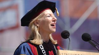 La académica Amy Gutmann.