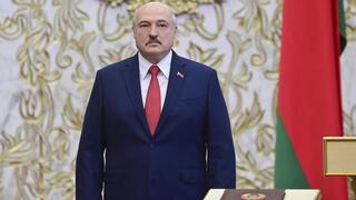 Alexandr Lukashenko, presidente de Bielorrusia.