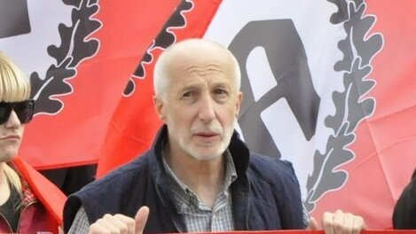 Pablo Pedro Peña, líder del partido ultraderechista Alianza Nacional.