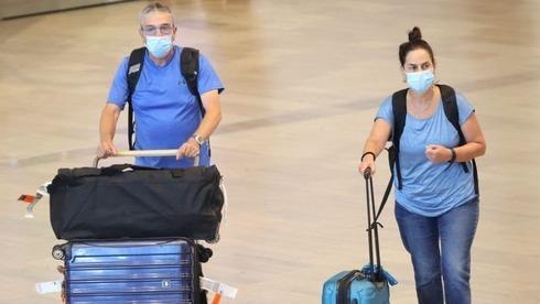 Viajeros en el aeropuerto Ben Gurion.