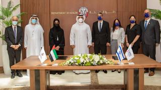 Abu Dhabi se asocia con el Centro Médico Sheba para aumentar la cooperación en materia de sanidad.