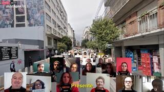 Acto virtual por el 27° aniversario del atentado a la AMIA en Buenos Aires.