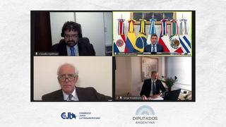 El Foro Parlamentario contra el Terrorismo fue convocado por el Congreso Judío Latinoamericano (CJL) en conjunto con la Cámara de Diputados de Argentina.