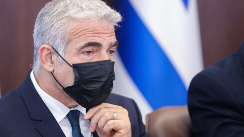Yair Lapid, ministro de Relaciones Exteriores.