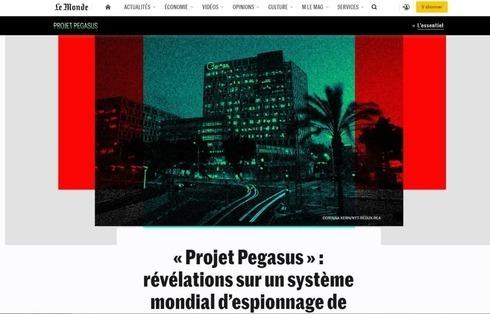 Le Monde reporta sobre el presunto hackeo.