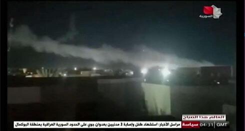 Imágenes de los ataques estadounidenses en Siria.