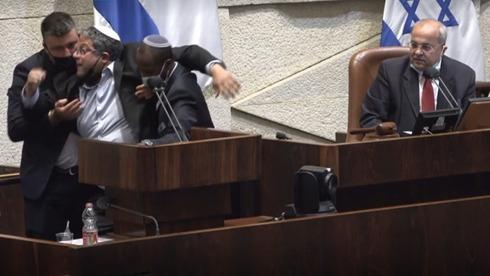 Ben Gvir Tibi Knesset