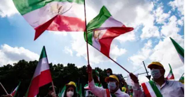 Protestas en el suroeste de Irán contra la escasez de agua.