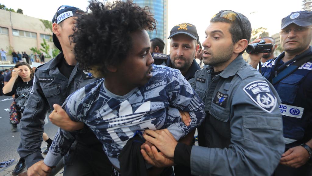 Policía Protesta etíope