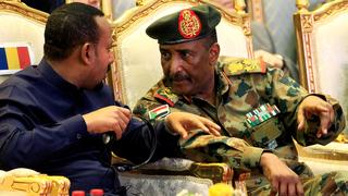 Abdel Fattah Abdelrahman Burhan, líder del consejo soberano de Sudán.
