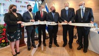 Inauturación Cámara de Comercio Guatemala-Israel.