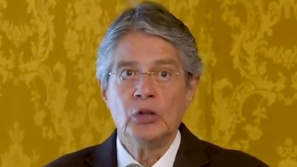 Guillermo Lasso, presidente de Ecuador.