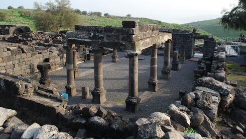 Los restos del pueblo judío en el Parque Nacional Korazim.