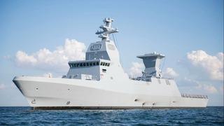 """El buque """"INS Azmaut""""."""