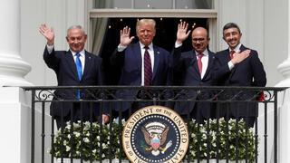 Ceremonia de los Acuerdos de Abraham. Se cumplió un año de la firma.