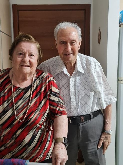 Michael y Hava Achalon, se conocieron a bordo del Exodus.