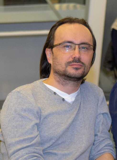 Dr. Oleg Komlik, director de la sección de gestión y recursos humanos de la Facultad de Ciencias del Comportamiento