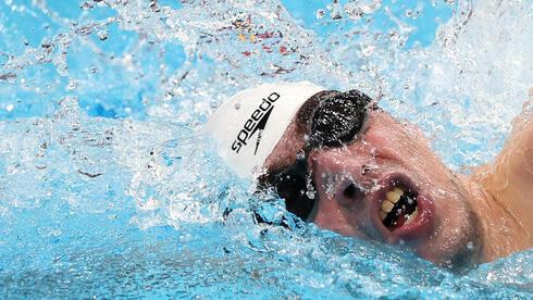El nadador paralímpico Ami Dadaon se llevó su primer oro.