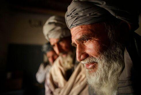 Un hombre pastún en Kabul, Afganistán.