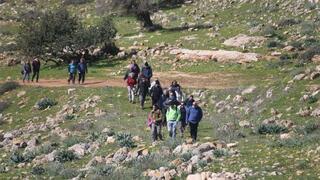 Tel Yodfat combina arqueología con hermosos paisajes.
