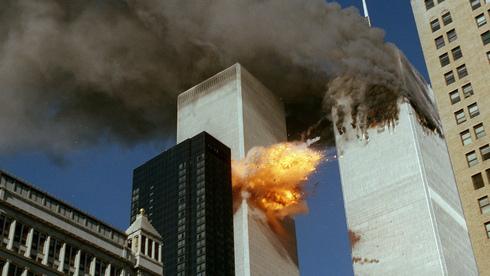 Ataque a las Torres Gemelas el 11 de septiembre de 2001.