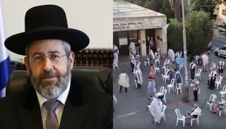 Rabino Lau Sinagoga