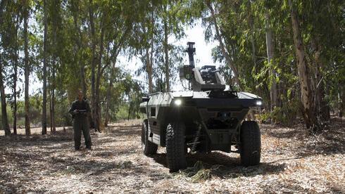 REX MK II, el nuevo vehículo no tripulado de la Industria Aeroespacial de Israel.