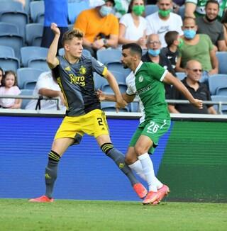 Maccabi Haifa empató de local ante el Feyenoord.