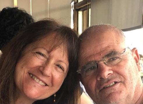 Haim Garon y su esposa Esti.