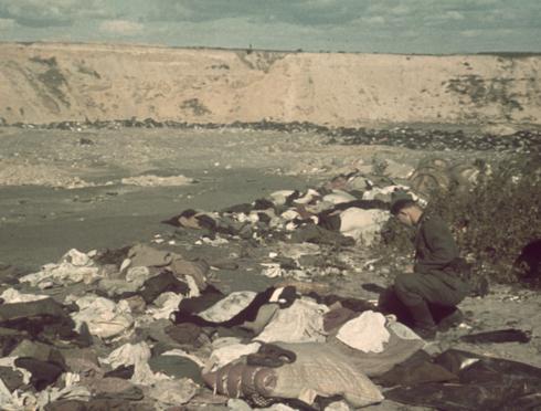 Barranco de la muerte en Babi Yar.